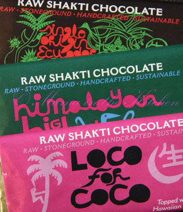 Raw Shakti Chocolate