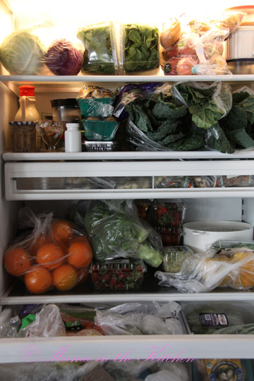 A Raw Vegan Mama's Fridge