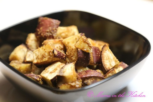 Easy Roasted Asian Sweet Potato