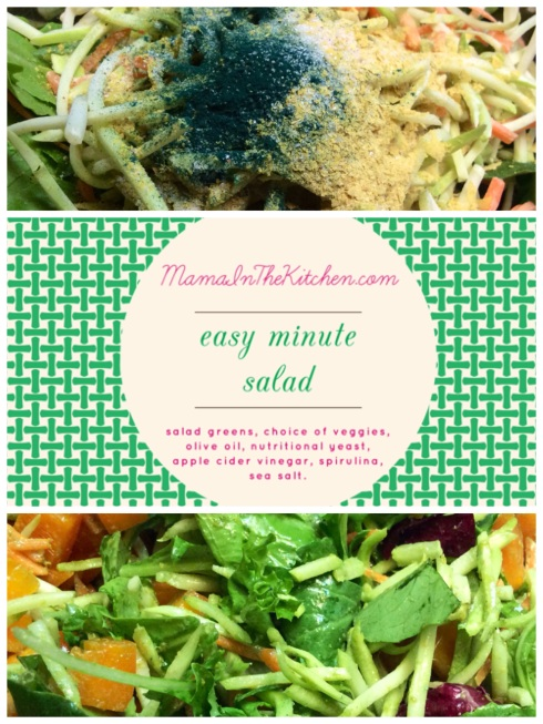 Easy Minute Salad