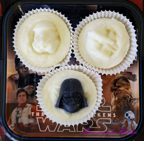 Star Wars Soap Cupcakes