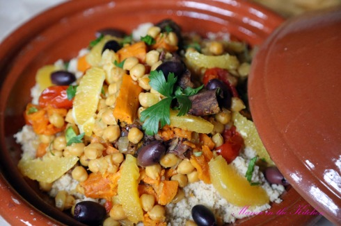 Chickpea Sweet Potato Tagine 2