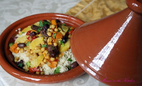 Chickpea Sweet Potato Tagine 3