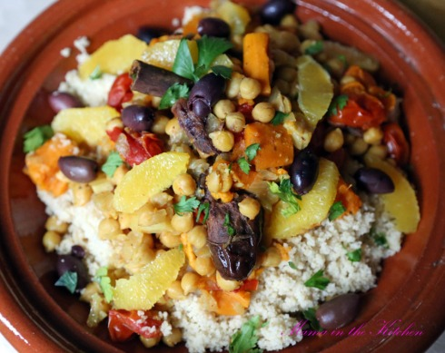 Chickpea Sweet Potato Tagine 4