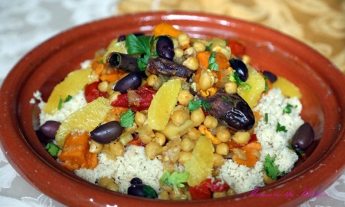 Chickpea Sweet Potato Tagine 5
