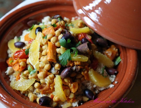 Chickpea Sweet Potato Tagine