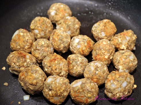Vegan Meatballs 2