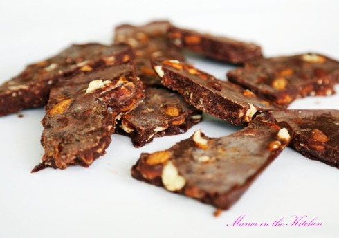 Almond Chocolate Bark 3 - this